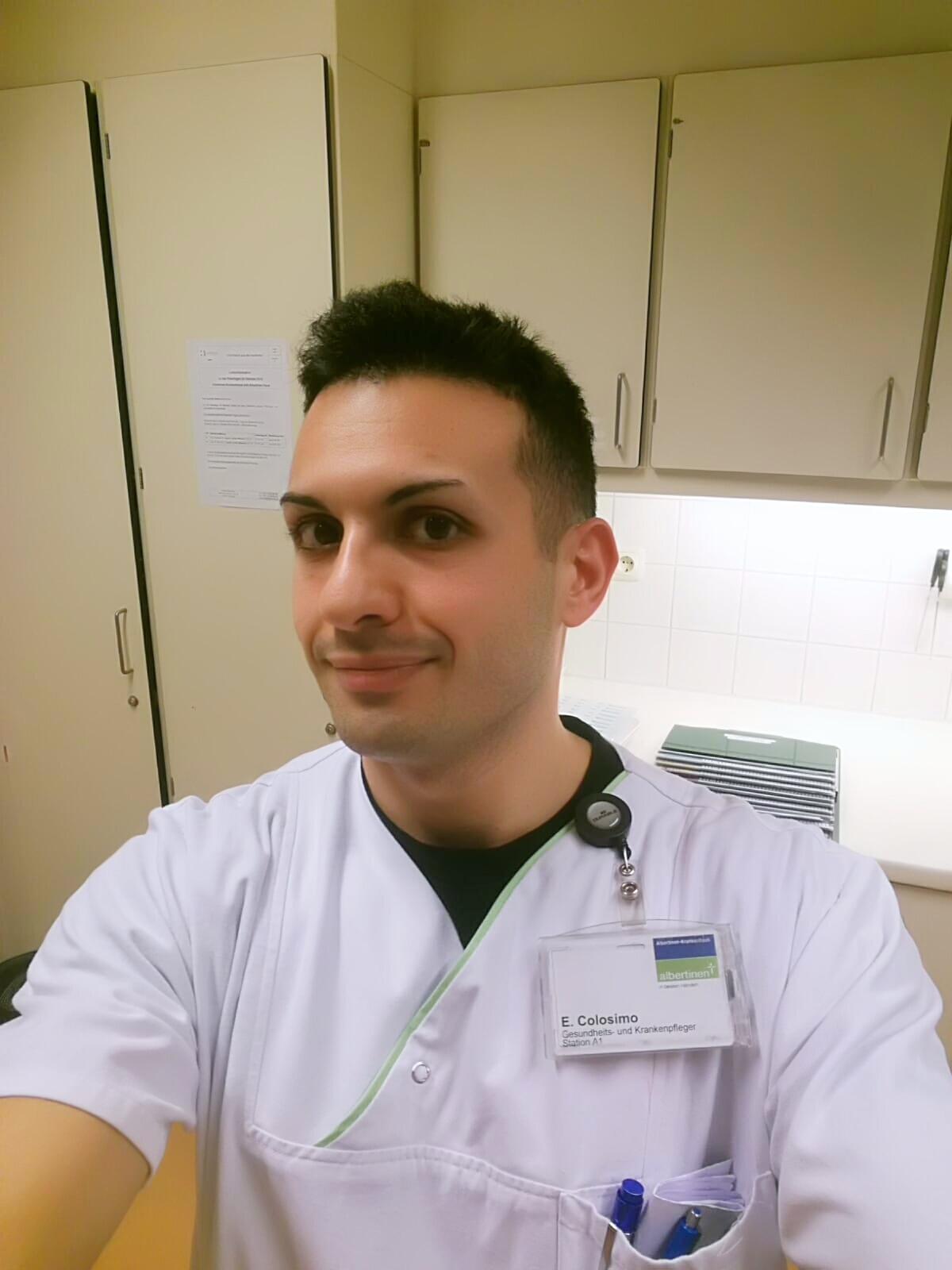 L´esperienza di Erich, infermiere italiano ad Amburgo